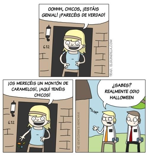 Otros - El drama de los Testigos de Jehová en Halloween
