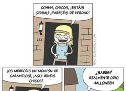 Enlace a El drama de los Testigos de Jehová en Halloween