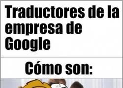 Enlace a La ineptitud de los trabajadores del traductor de Google