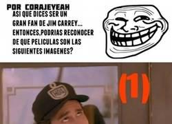 Enlace a ¿Eres un gran fan de Jim Carrey? ¡Demuéstralo!