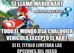 Enlace a ¡Y menos mal que las cosas son así en Mario Kart!