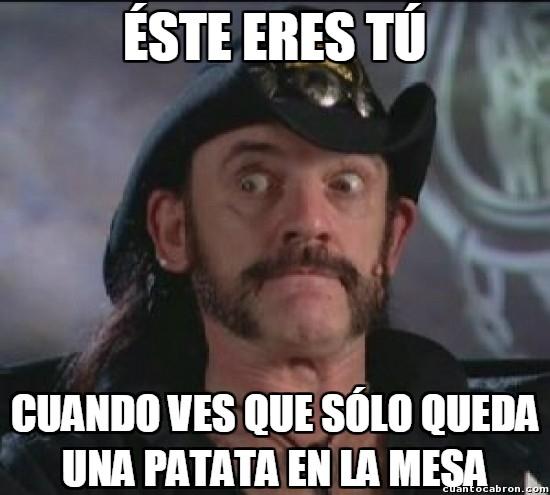 Meme_otros - Cuando sólo queda una patata...