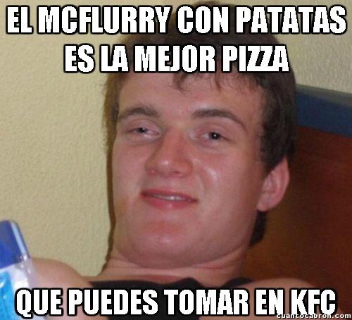Colega_fumado - Como para invitarle a comer...