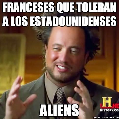 Ancient_aliens - Los franceses y la tolerancia no siempre van de la mano