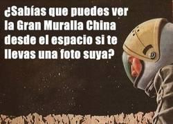 Enlace a La verdad sobre La Gran Muralla China desde el espacio