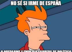 Enlace a En España ahora mismo sólo hay dos opciones