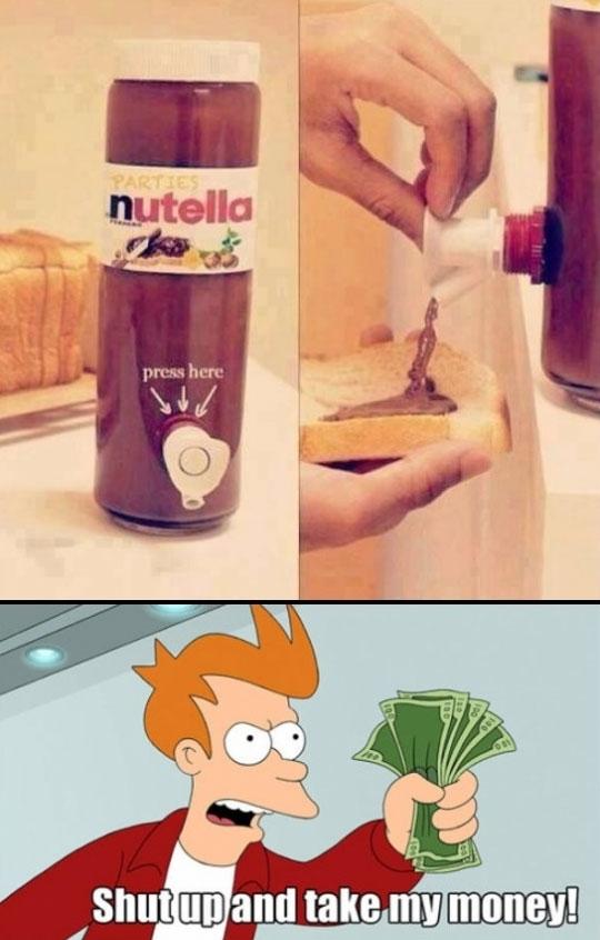 Fry - ¡Ya era hora de que sacaran algo así!