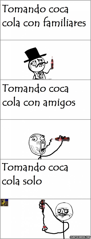 Me_gusta - Formas de tomar coca cola según la compañia