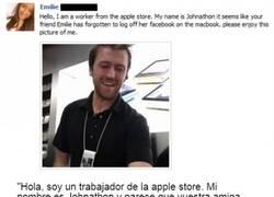 Enlace a Goog guy dependiente de la tienda Apple