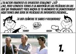 Enlace a ¿Crees saber mucho de Sylvester Stallone?
