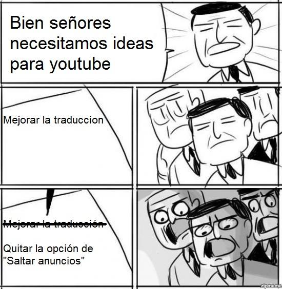 Otros - Youtube sabe lo que se hace