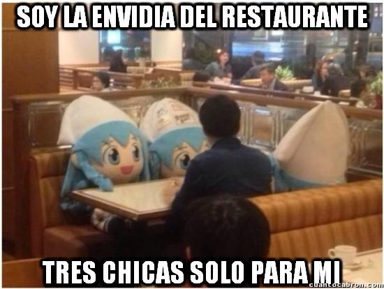 Meme_otros - La envidia de todo el restaurante