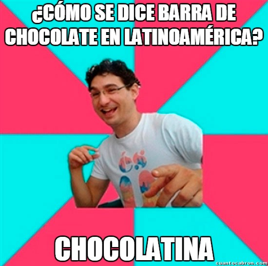 Bad_joke_deivid - Las barras de chocolate de América del Sur