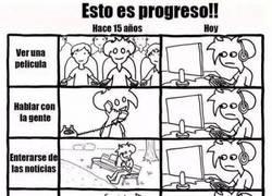 Enlace a ¡Esto es progreso!