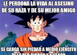 Enlace a La bipolaridad de Son Goku
