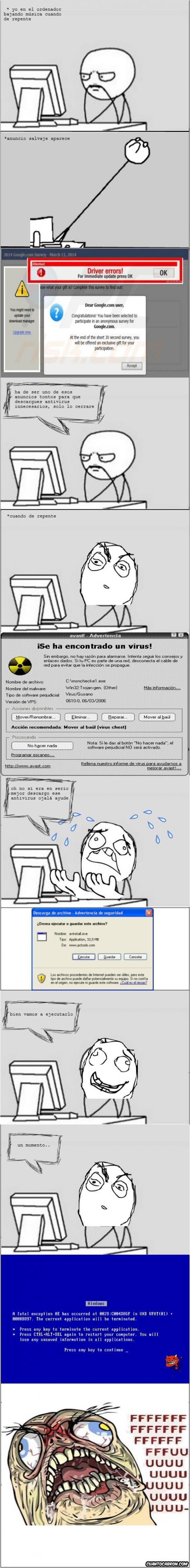Computer_guy - Nunca te fíes de los anti-virus de publicidad
