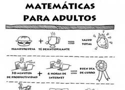Enlace a Matemáticas para adultos, ¿alguien necesita un café?