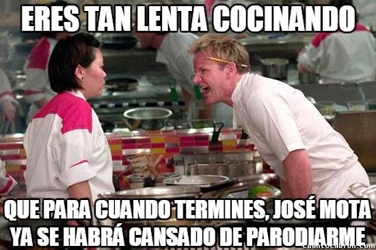 Chef_ramsay - El Chef Ramsay tiene muy en cuenta a sus imitadores