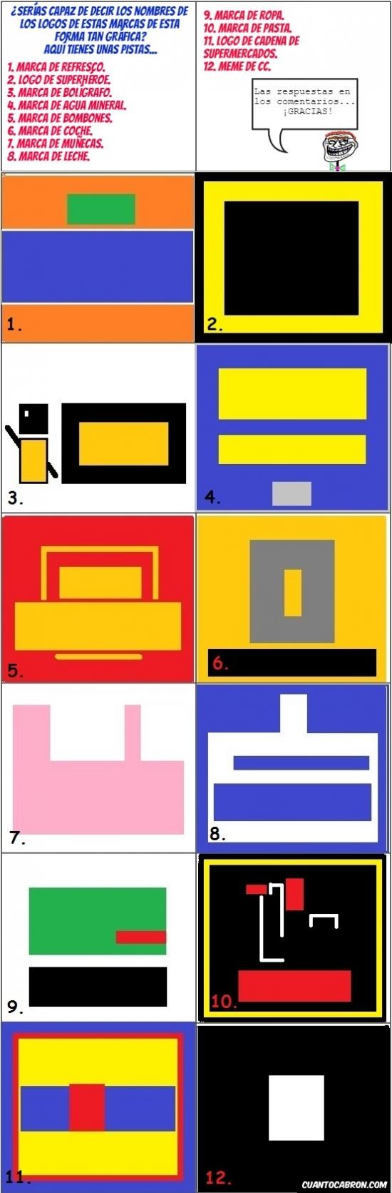 Otros - ¿Conoces los logos de estas marcas en versión super-simplificada?
