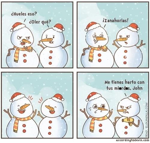 Otros - Es humor de muñecos de nieve, no les hagáis caso