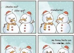 Enlace a Es humor de muñecos de nieve, no les hagáis caso