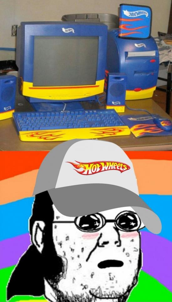 Friki - El mejor ordenador para un fanático de los cochecitos de juguetes