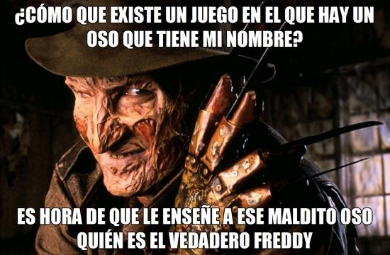 Meme_otros - Creo que alguien no está muy contento con el nuevo Freddy