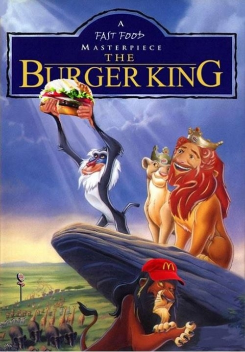 Meme_otros - ¡Aquí tú eres el Rey! ¿El Rey León? Bueno, algo así...