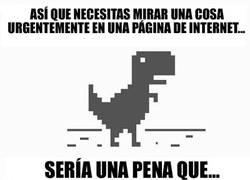 Enlace a El dinosaurio más inoportuno que ha existido nunca
