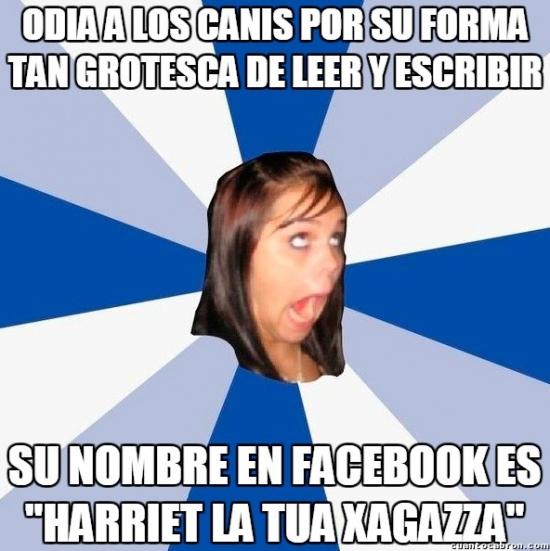 Amiga_facebook_molesta - De este tipo de posers tengo el Facebook lleno