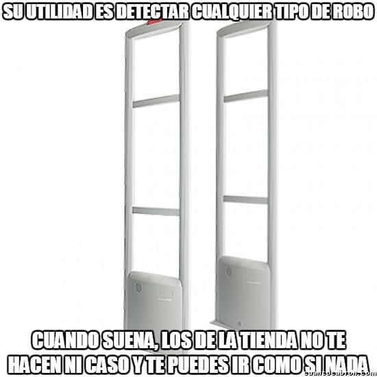 Meme_otros - Los detectores de ladrones que a nadie le importan