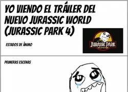 Enlace a ¿Habéis visto el tráiler de la nueva peli ''Jurassic World''?