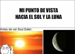 Enlace a Soul Eater, cambiando la perspectiva del Sol y la Luna