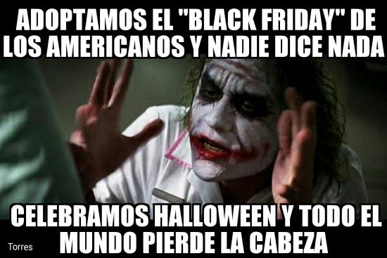 Joker - Algunas tradiciones americanas nos parecen mal, pero con otras...