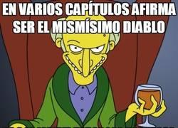 Enlace a El Sr. Burns y sus incoherencias religiosas