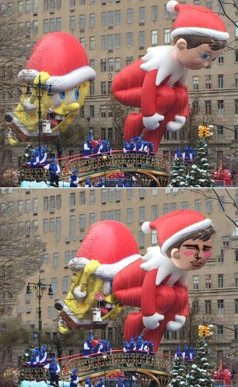Otros - El tradicional desfile de Acción de Gracias tendría que elegir mejor el orden de sus muñecos
