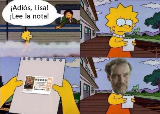 Otros - Lee la nota, Lisa... Digoooo, ¡Antonio!