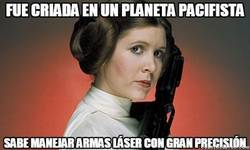 Enlace a Leia, la princesa guerrera