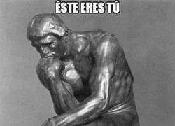 Enlace a En esto se inspiró Rodin para hacer a su pensador