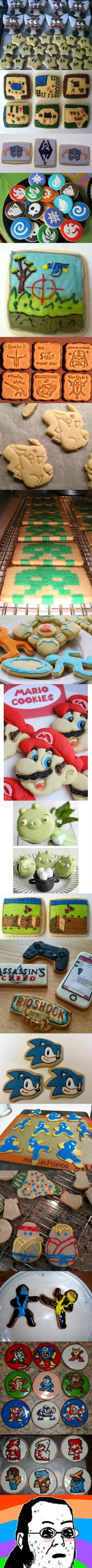 Friki - Hay que tener mucho talento y ser bastante friki para currarse una galletas como éstas