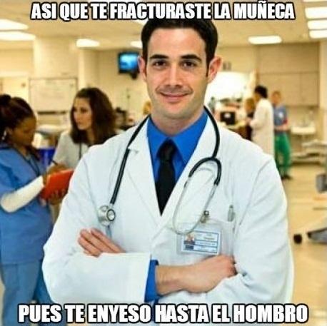 Meme_otros - El médico troll sabe cómo curarte