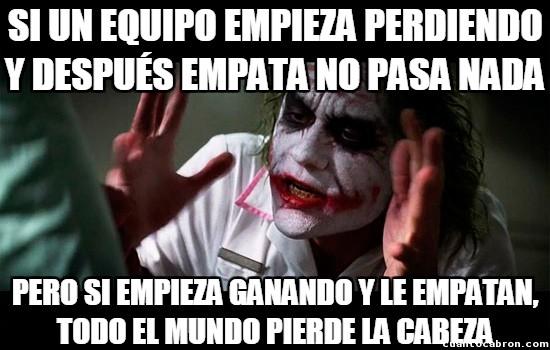 Joker - Lógica del futbol
