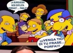Enlace a La frase favorita de Pablo Iglesias