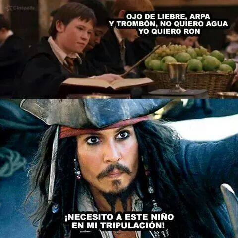 Meme_otros - El pirata favorito de Jack Sparrow