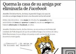 Enlace a Será mejor que nos pensemos antes a quién vamos a  borrar del Facebook no nos vaya a pasar lo mismo