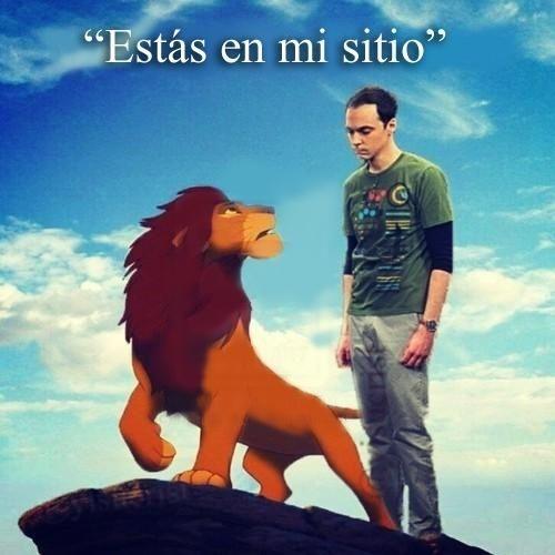 Meme_otros - Todos le quitan el sitio al pobre Sheldon