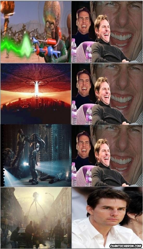 Meme_otros - No todas las invasiones alienígenas son divertidas para Tom