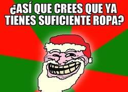 Enlace a Y Papá Noel siempre trolleando