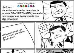 Enlace a ¡Rápido, necesitamos innovar en Telecinco!