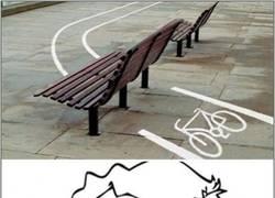 Enlace a Con todos ustedes, el carril bici más extremo